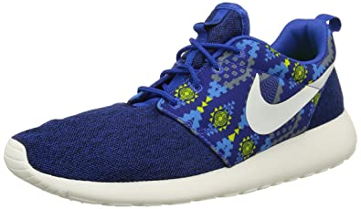 NIKE Roshe One Print Mens Trainers 655206 Sneakers Shoes (UK 8.5 US 9.5 EU  42.5