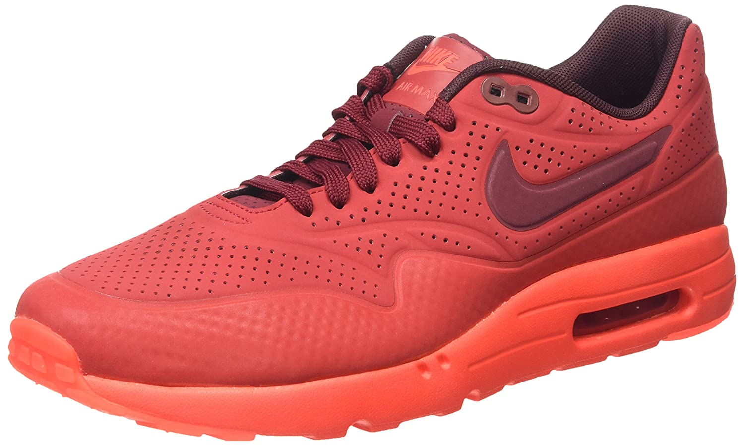 Nike Air Max 1 Ultra Moire Herren Sneakerss  43 EU|Rot (Gym Red/Team Red-unvrsty Red)