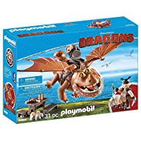 Playmobil How to Train Your Dragon Fishlegs Meatlug Multicolor Deals