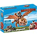 Playmobil How To Train Your Dragon Fishlegs and Meatlug Playset