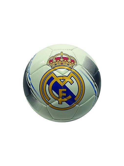 Real Madrid Pelota (# 2, 4, 5), Blanco/Azul Marino: Amazon.es ...