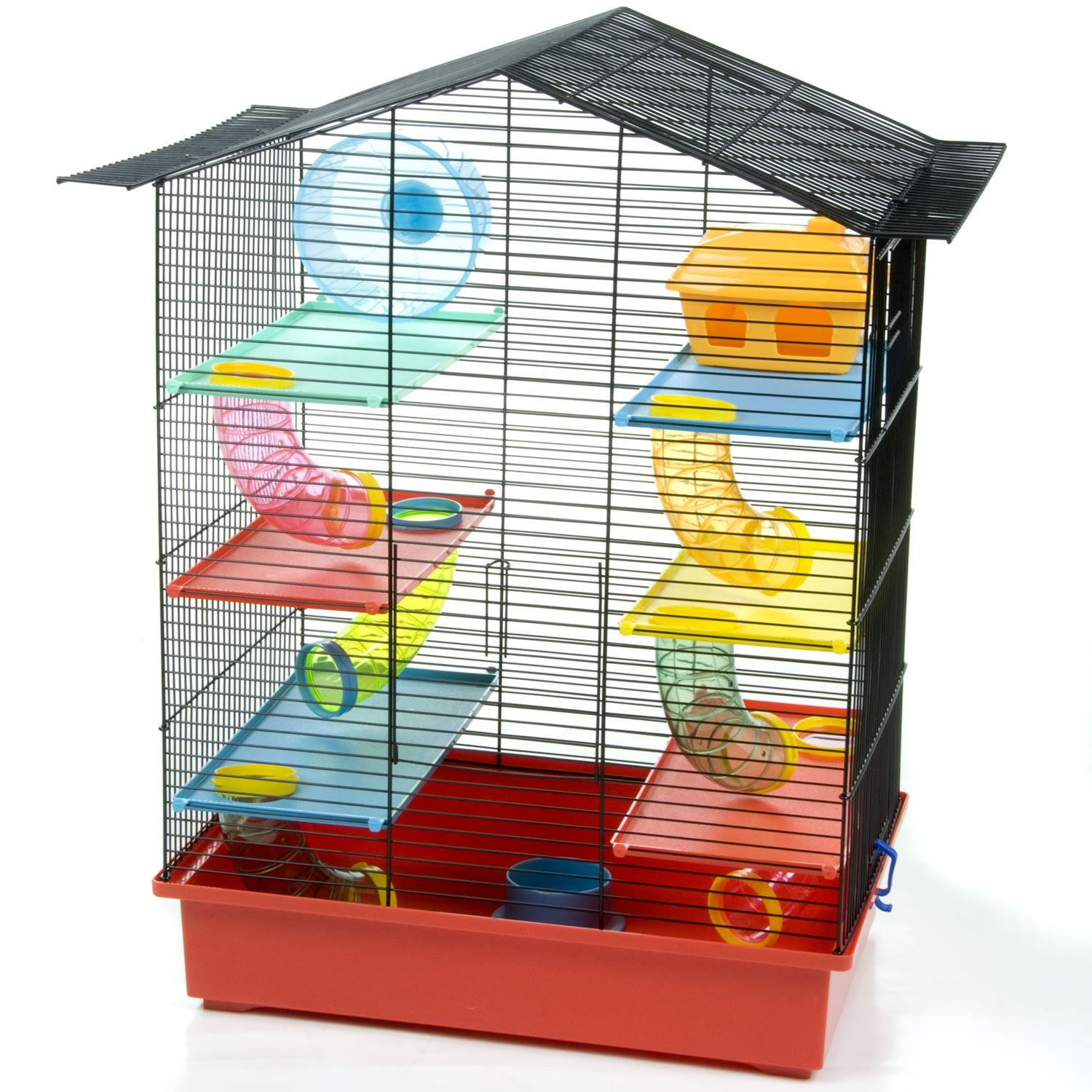 HAMSTER CAGE LARGE CRITTER XL PALACE WITH TUBES MOUSE GERBIL