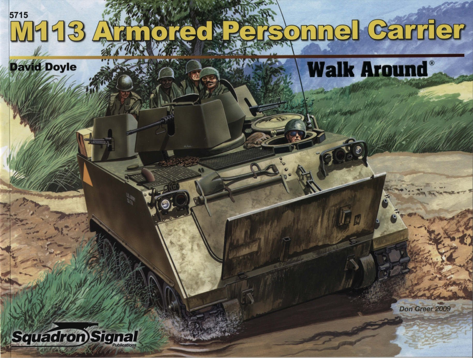 M113 Armored Personnel Carrier Walk Around Color Series No 15
