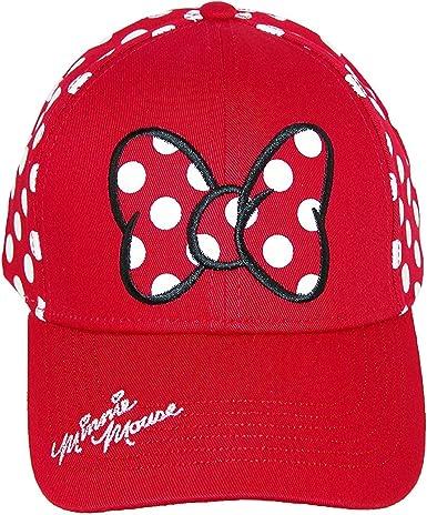 Minnie /& Me Classic Bright Red White Polka Dots Print Cute Summer Fun Cotton Hat by Calico Caps Ladies Womens Girls Sun VISOR