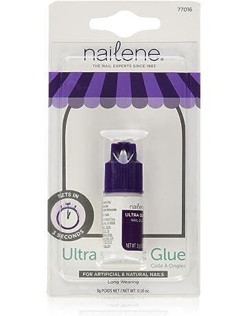 Nailene, Pegamento de uñas ultra rápido transparente, ...
