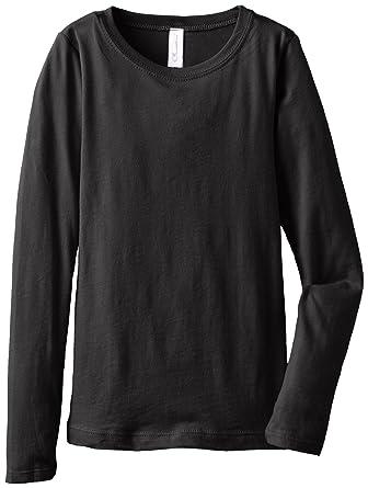 Amazon.com  Big Girls Tween Youth Long Sleeve T Shirt Undershirt Sweatshirt  Tees  Clothing 996816c7387