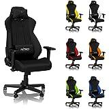 Nitro Concepts S300 Gamingstuhl / Bürostuhl / Schreibtischstuhl - Stealth Black