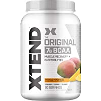Scivation XTEND Original BCAA Powder Mango Madness | Sugar Free Post Workout Muscle Recovery Drink with Amino Acids | 7g…