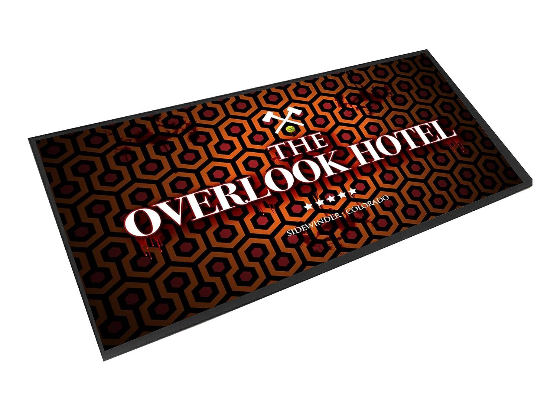 Artylicious The Overlook Hotel The Shining inspirierte Horrorfilm Bar Runner Bar Mat