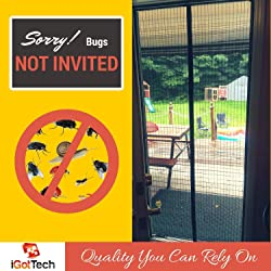 Best Magnetic Screen Door by iGotTech - Our Pick