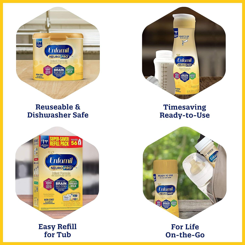 List for Baby Feeding Essentials Enfamil NeuroPro Baby Formula Milk Powder Refill
