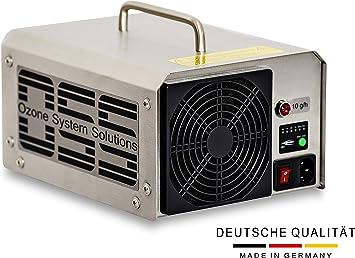 OSS Ten O³ Plus con luz UV | Generador de ozono UV con 10000 mg/h o