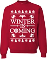 Winter Is Coming Game Of Thrones Ugly Christmas Sweater Unisex Sweatshirt