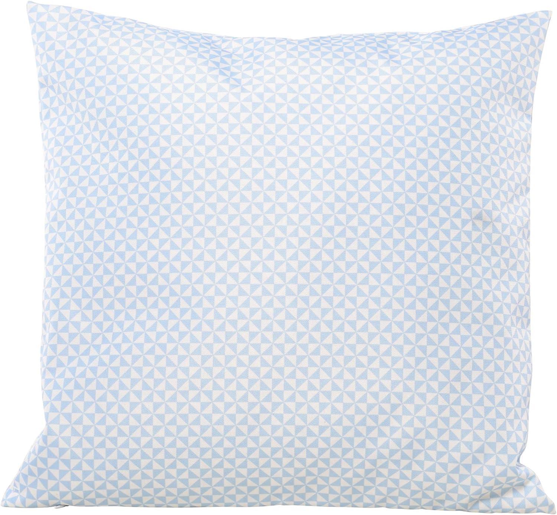 Bleu Colormers Fun Coussin d/écoratif dext/érieur r/ésistant aux intemp/éries 45 x 45 cm 45 cm x 45 cm