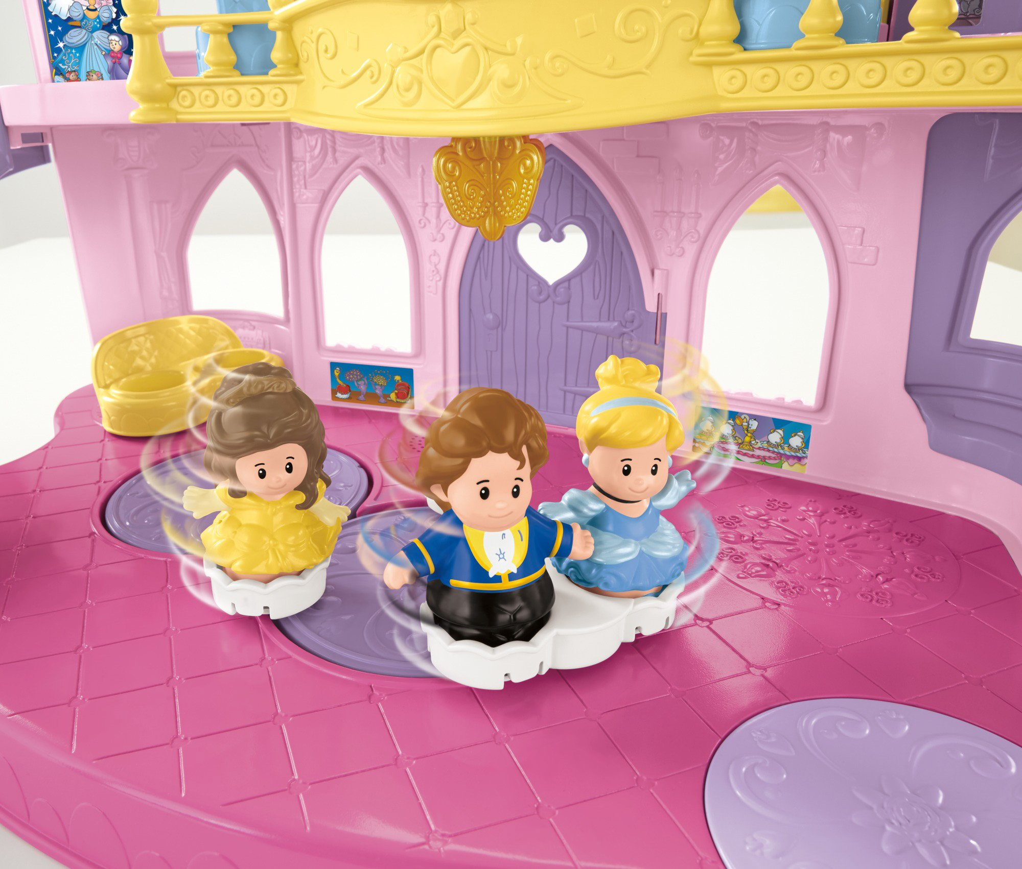 Fisher-Price Little People Disney Princess, Musical Dancing Palace by Fisher-Price (Image #12)