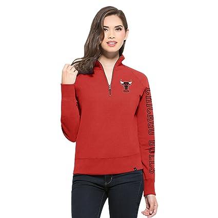 Amazon.com   NBA Chicago Bulls Women s  47 Shimmer Cross-Check 1 4 ... af854b6b3b