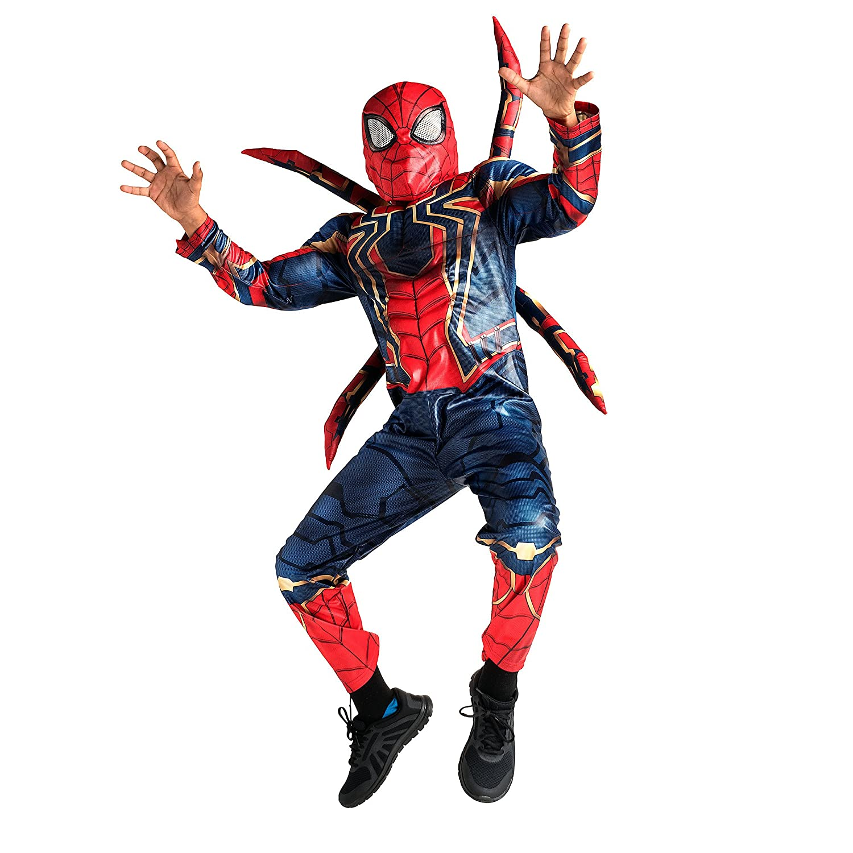 Marvel Iron Spider Costume For Kids Avengers : infinity Warマルチ B07CKDBBCT 13