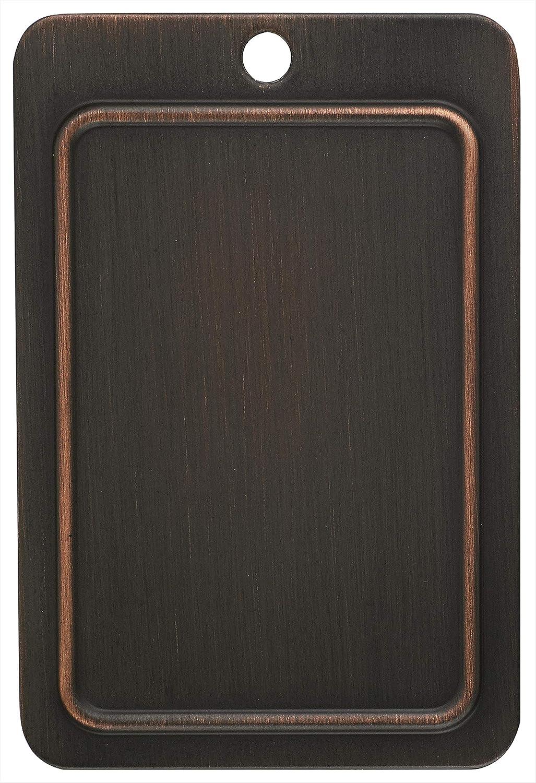 Oil-Rubbed Bronze Amerock BP36506ORB Candler 3 Rocker Wallplate