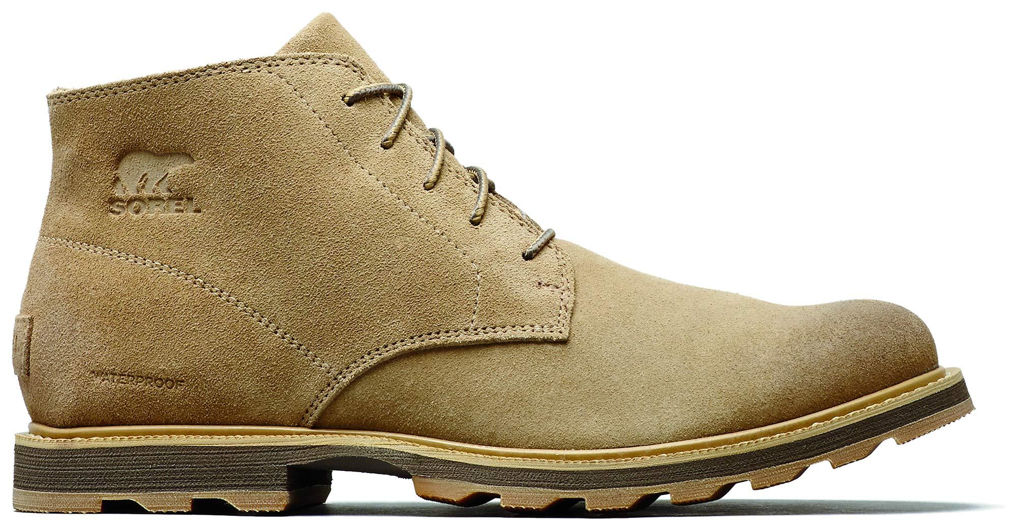 SOREL Madson Chukka Waterproof Boot - Men's Crouton, 10.5