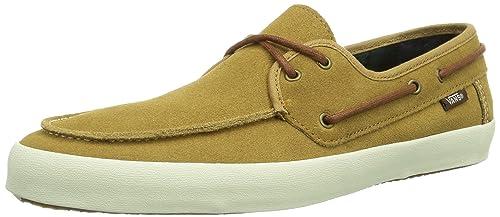d9331f2da4 Vans Men s Chauffeur Suede Dijon Flannel Shoes (10.0 M US)  Amazon ...
