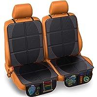 Fortem Protector de asiento de coche, impermeable, acolchado grueso para asiento trasero, protege contra daños con…