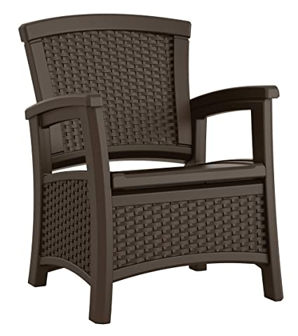 Amazon Suncast Elements Club Chair With Storage