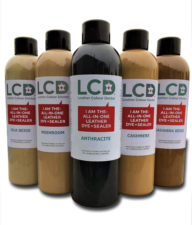 Carbusonic - Tinte para Piel (500 ml), Color Negro