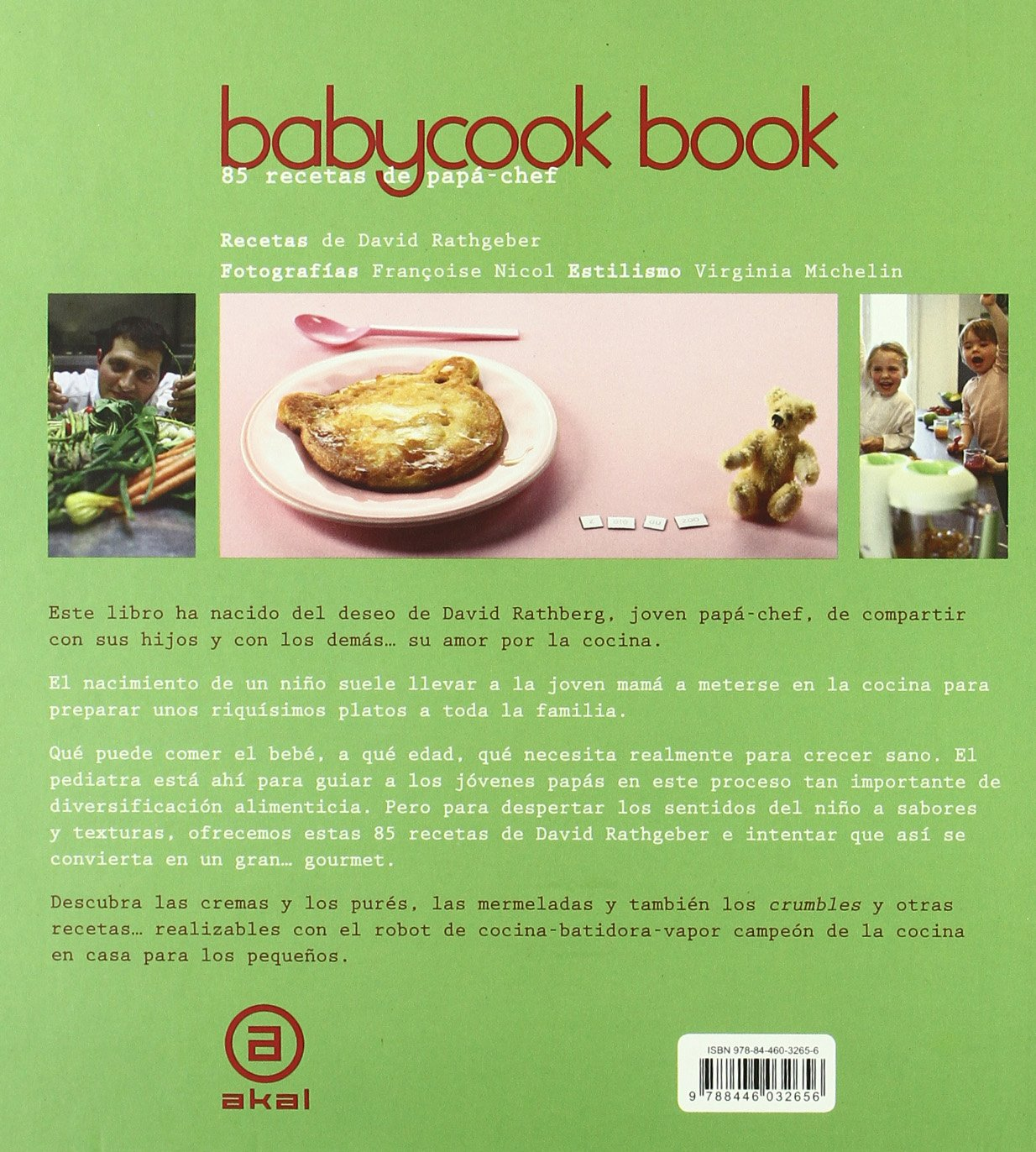 Babycook Book. Nueva edición: 85 recetas de papá-chef Cocina práctica: Amazon.es: Rathgeber, David, Gallegos, Emma, Martínez, Esperanza: Libros