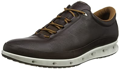 ECCO Men's Cool Gore-Tex Walking Shoe, Mocha, 39 EU/5-
