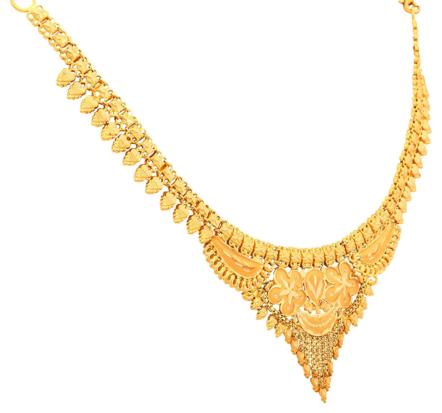 Buy senco gold 22k yellow gold chain necklace online at low prices buy senco gold 22k yellow gold chain necklace online at low prices in india amazon jewellery store amazon aloadofball
