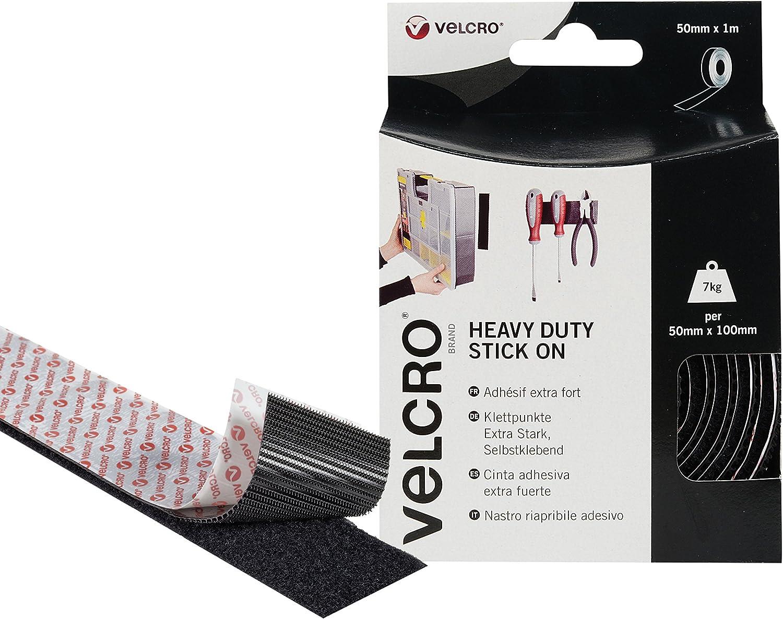 Velcro Industrial Strength Heavy-Duty Stick Self Adhésif Résistant aux intempéries