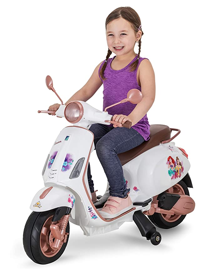 Amazon.com: Kid Trax Cenicienta 6 V Scooter: Toys & Games