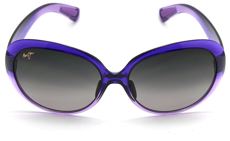 84488ec6d6 Amazon.com  Maui Jim GS436-28C NAHIKU Purple Fade Frame   Polarized Neutral  Grey Lens  Clothing