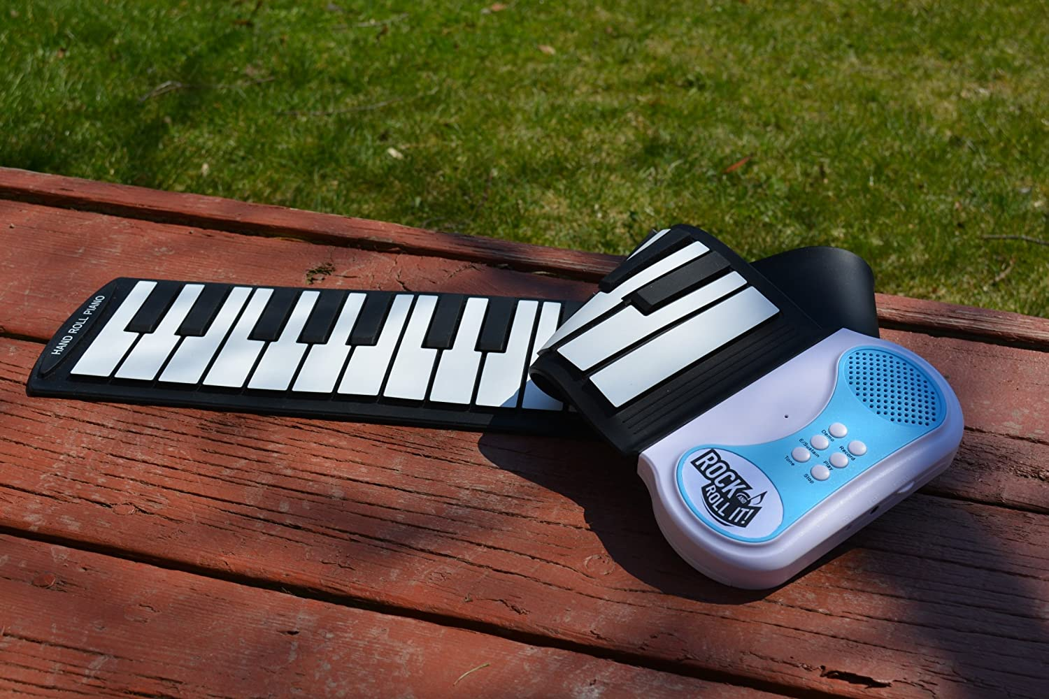 Amazon.com: MukikiM Rock And Roll It - Piano. Flexible, Completely Portable, 49 standard Keys, battery OR USB powered. 2016 ASTRA Best Toy for Kids Award ...