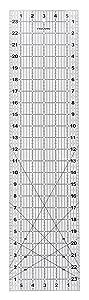 Fiskars 6x24 Inch Acrylic Ruler (187620-1001)