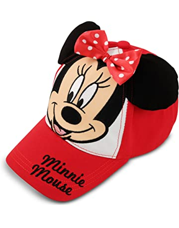 dd8b53d7f5f Disney Girls  Toddler Minnie Mouse Bowtique Cotton Baseball Cap