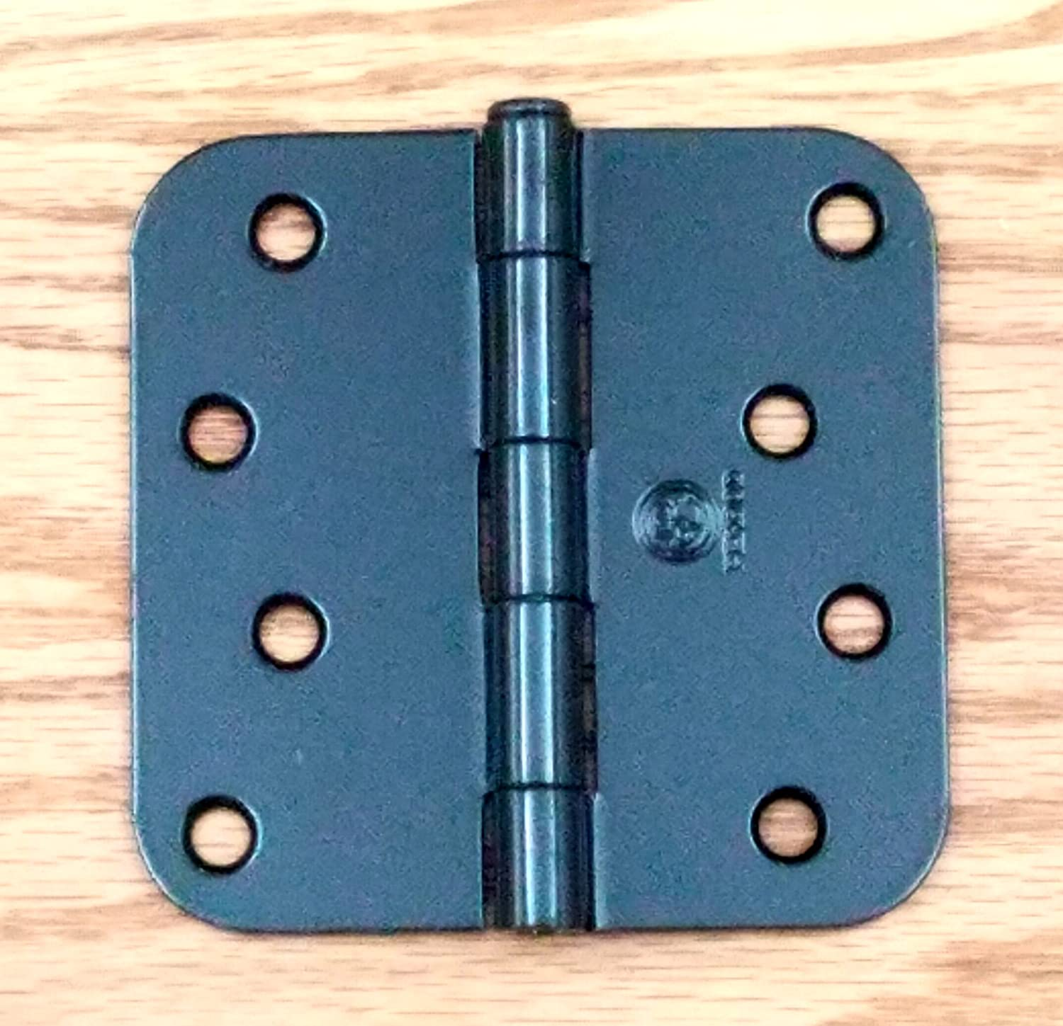 Penrod Door Hinges - Black Prime - 4 inch with 5/8 inch radius - 2 ...