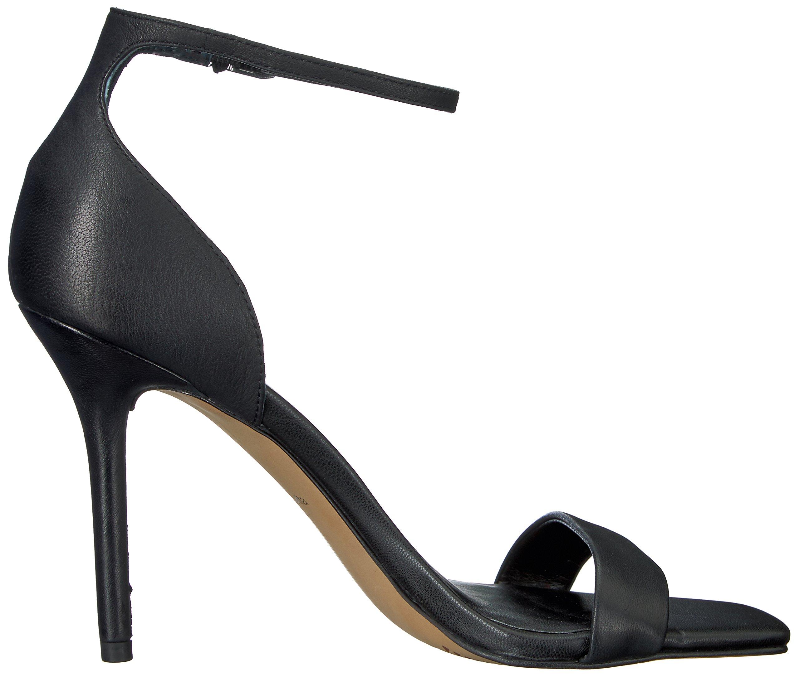 Dolce Vita Women's Halo Heeled Sandal, Black Leather, 8.5 Medium US by Dolce Vita (Image #7)