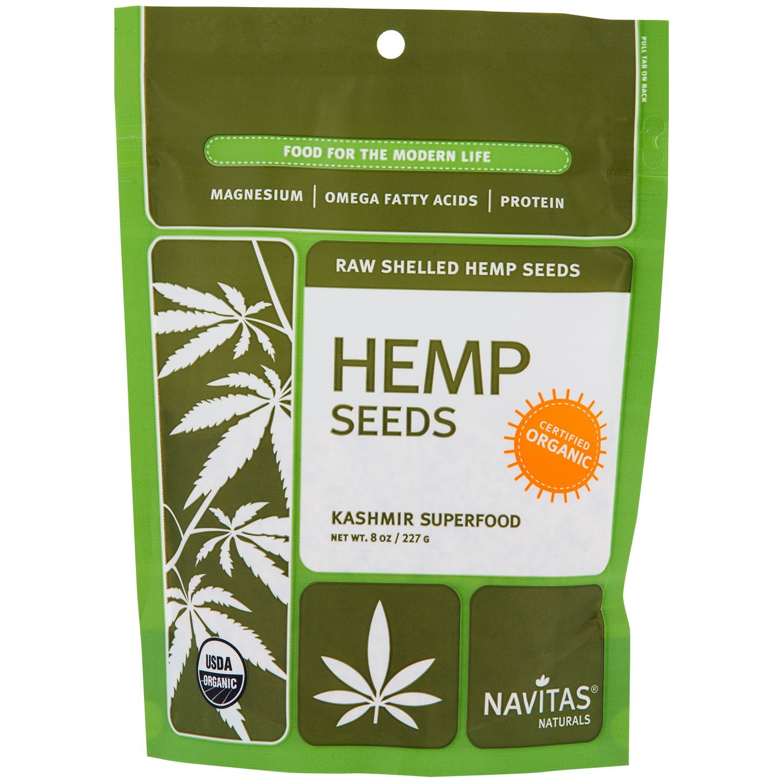 Navitas Naturals Organic Raw Shelled Hemp Seeds-8