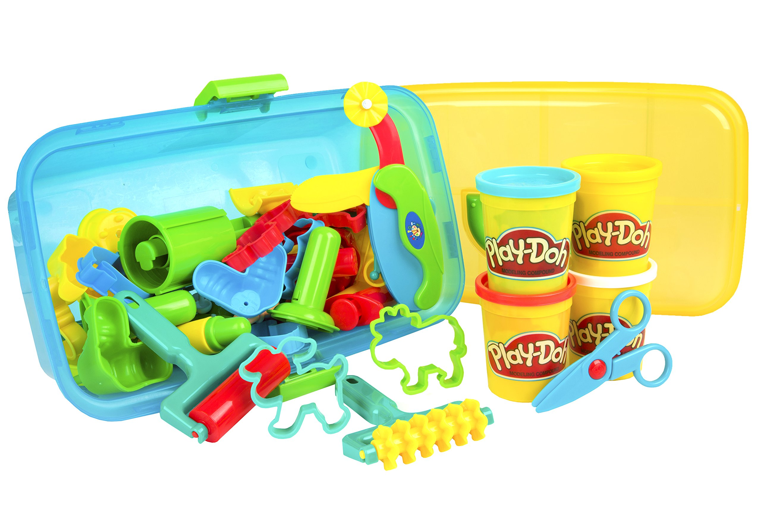 Galleon Cp Toys Clay Center With Four 5 Oz Play Doh