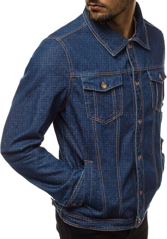 Jeansjacke Denim Vintage Klassiker Übergangsjacke Jeans OZONEE JB//JP1109Z Herren
