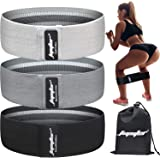 Resistance Bands for Legs and Butt, Exercise Bands Booty Bands Hip Bands Wide Workout Bands Sports for Squat Glute Hip Traini