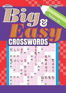 Big Easy Crosswords Puzzle Book Volume 24