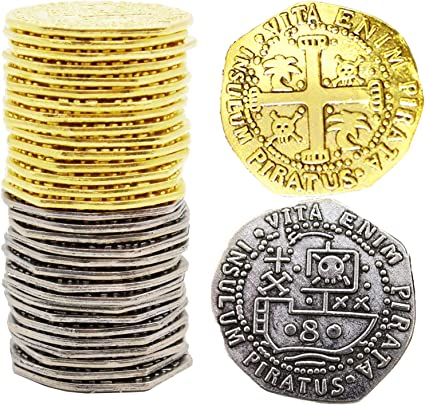 Pirate Coin Pieces of Eight Looks and Feels Like The Real Thing