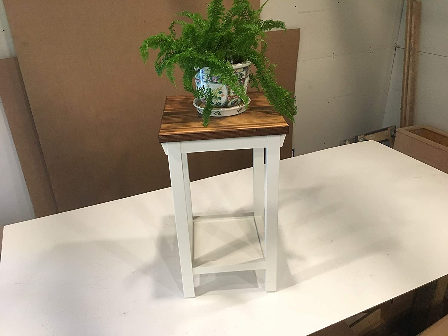 """Hallway/Mud Room/Foyer Plant, Lamp Stand In Your Choice Of Color And Size 12"""" To 16"""""""