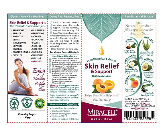 Amazon Com Miracell Skin Relief And Support 5 Oz Beauty