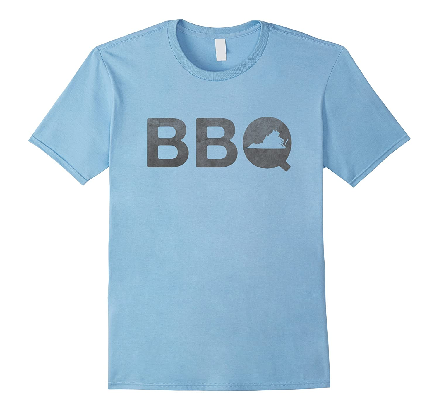 Virginia BBQ T-Shirt Barbecue State Pride Tee-CD
