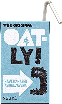 Oatly Bebida de Avena - 250 ml: Amazon.es: Alimentación y bebidas