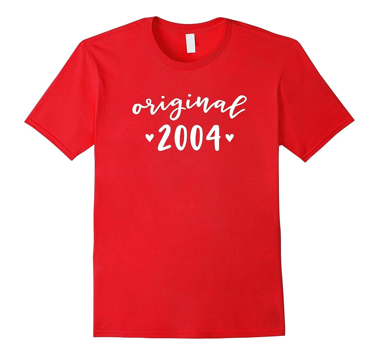 Original 2004 Birth Year 13th Birthday Party Gift T Shirts CD Canditee
