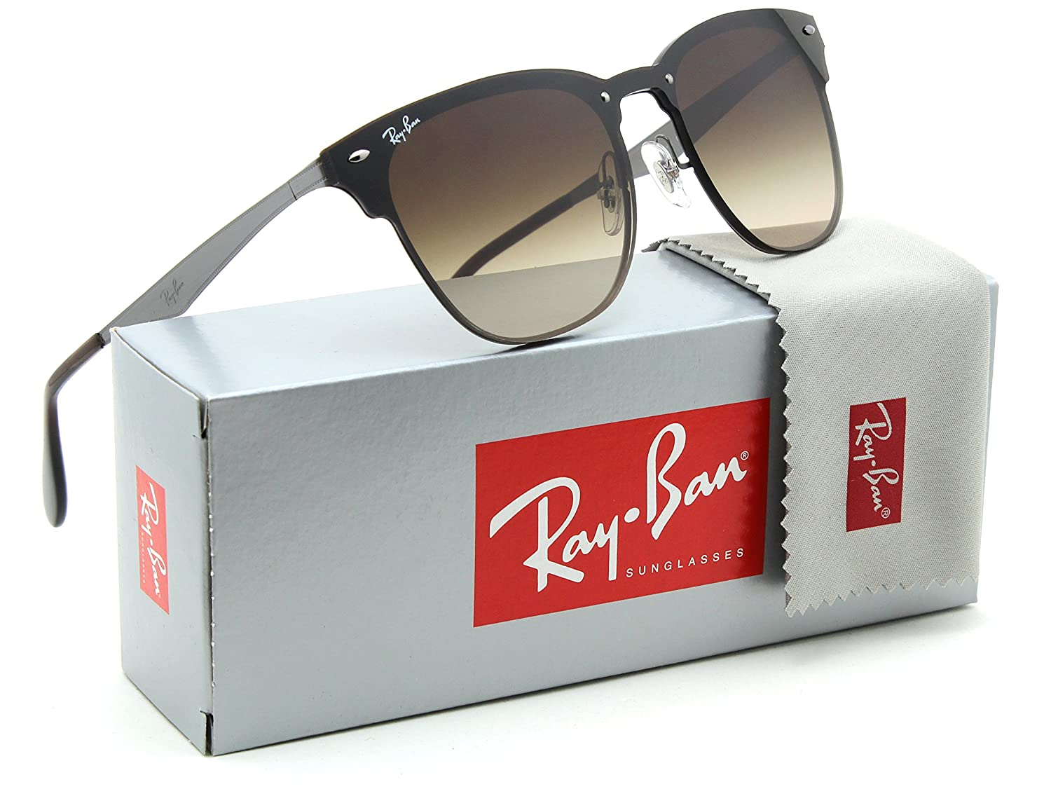 46e6269b83 Amazon.com  Ray-Ban RB3576N Blaze Clubmaster Unisex Gradient Sunglasses  041 13 - 41mm  Clothing